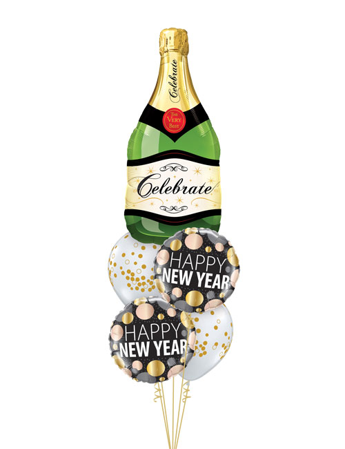 Champagne New Year Bouquet