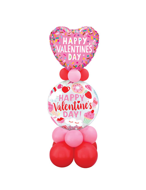 Everything Valentine Bubble Bouquet
