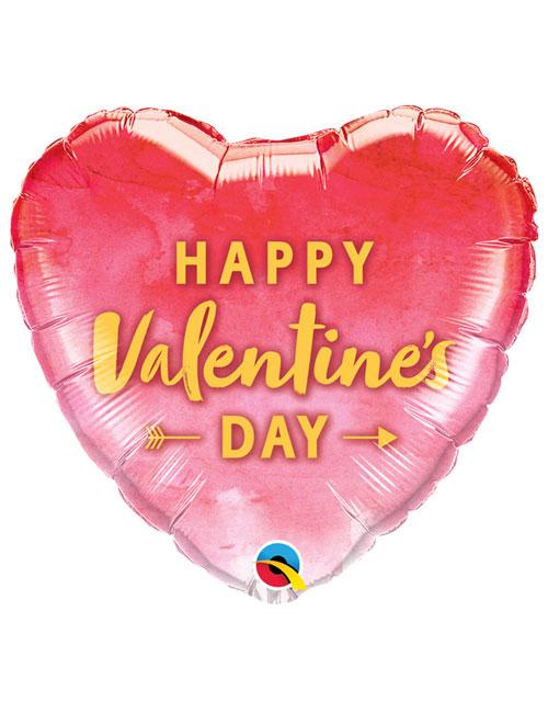 Gold Arrow Valentines Balloon
