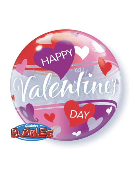 Happy Valentines Day Bubble Balloon