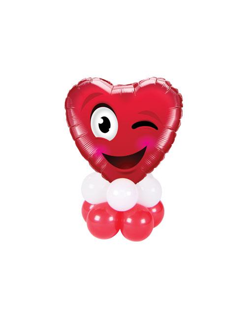 Love Heart Wink Mini Stack