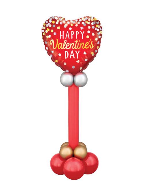 Valentine Confetti Pedestal