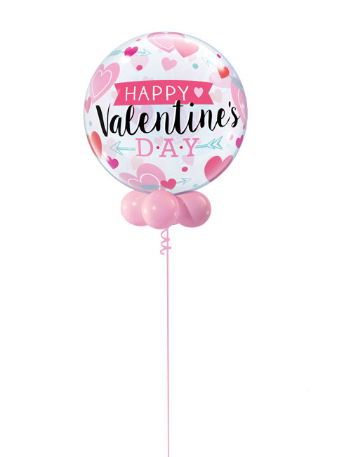 Valentines Day Banner Bubble