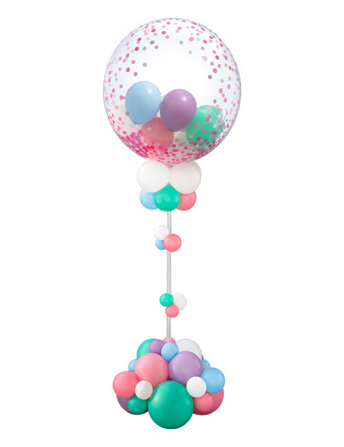 Mothers Day Gumball Balloon Display