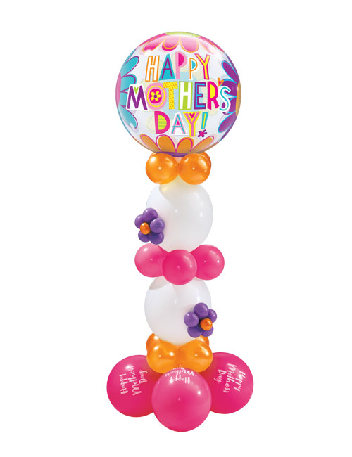 Mothers Day Big Flowers Column