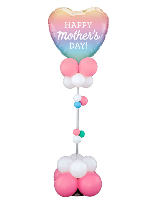 Mothers Day Ombre Organic Centrepeice