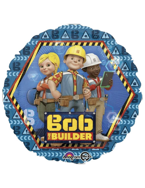 Amazing 18 Bob The Builder Foil Balloon Its My Party Funny Birthday Cards Online Elaedamsfinfo