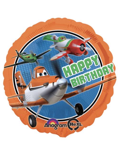 18 inch Disney Planes Happy Birthday Balloon