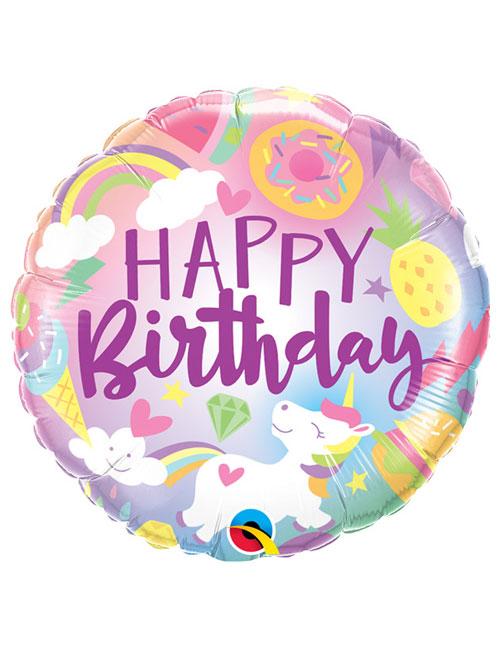 18 inch Fantastical Fun Birthday Balloon