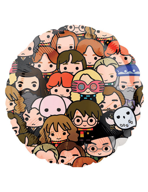 18 inch Harry Potter Multi Faces Balloon