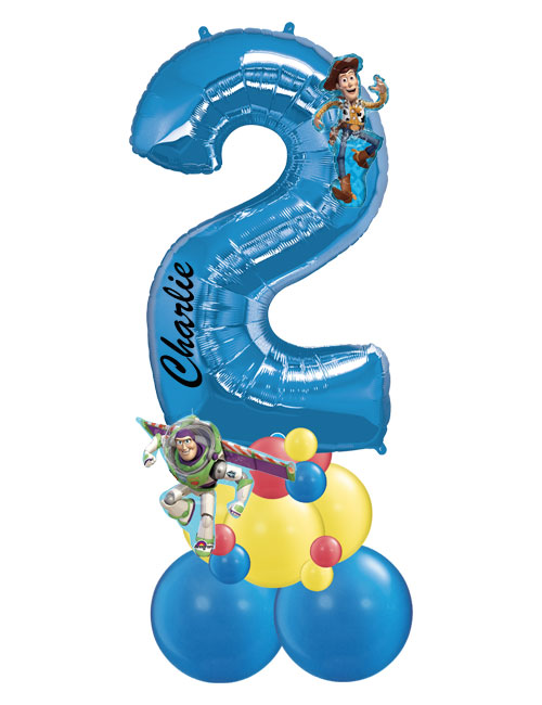 Blue Number Stack 2 Toy Story