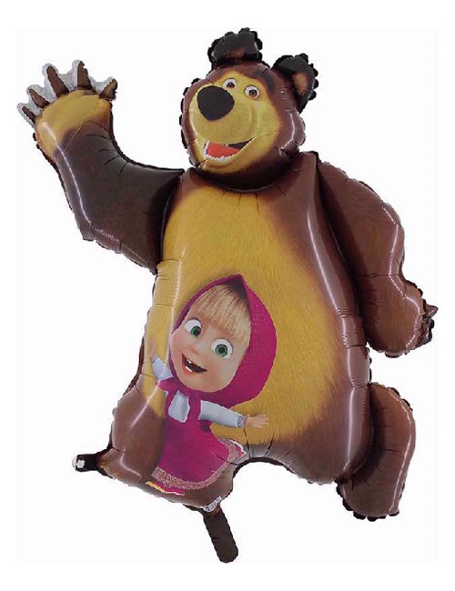 Masha and the Bear Shape