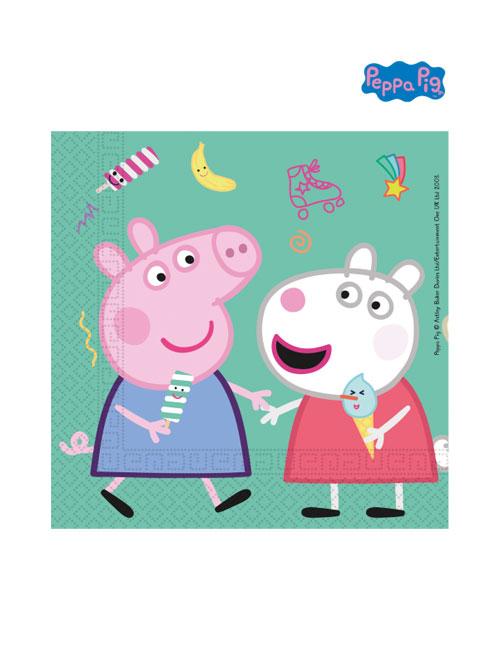 Peppa Pig Napkins Front