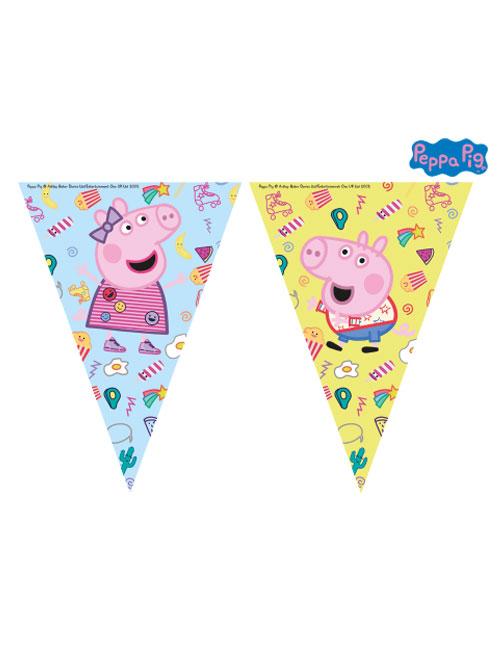 Peppa Pig Pendant Banner
