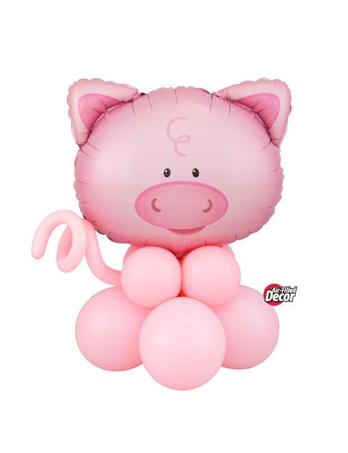 Air Filled Pig Balloon Display