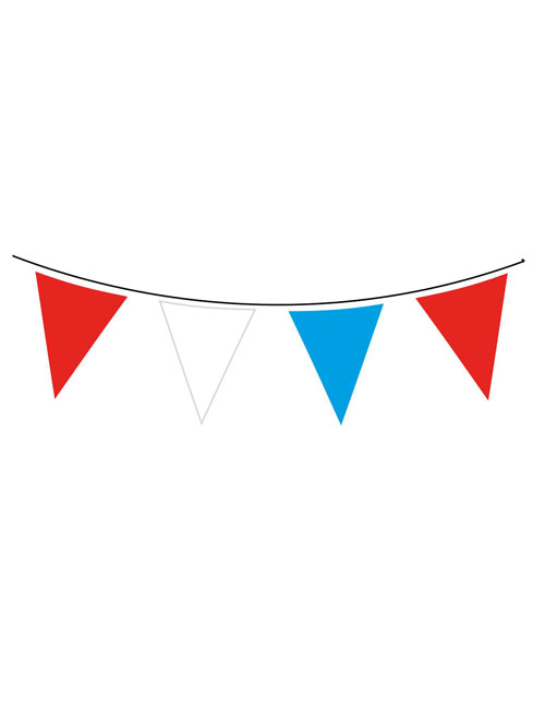 Red White Blue Bunting
